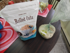 rolled oats, quick oats