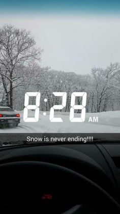 why more snow, why